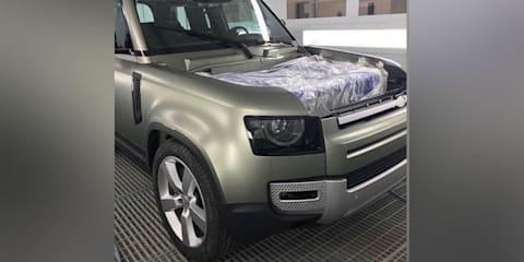 2020 Land Rover Defender front end leaked