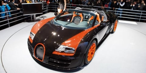 Bugatti Veyron Grand Sport Vitesse World Record Car Edition revealed