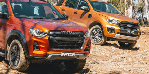 Ute review: 2021 Isuzu D-Max v Ford Ranger off-road comparison