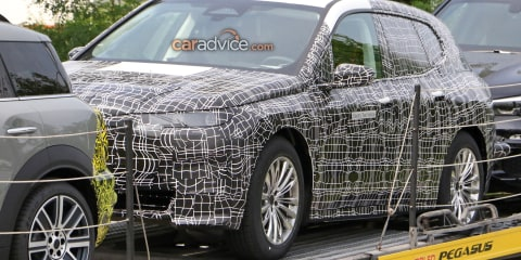 2021 BMW iNext SUV spied