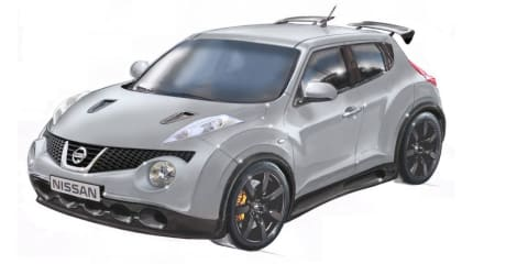 Nissan Juke-R - GT-R powered Juke?