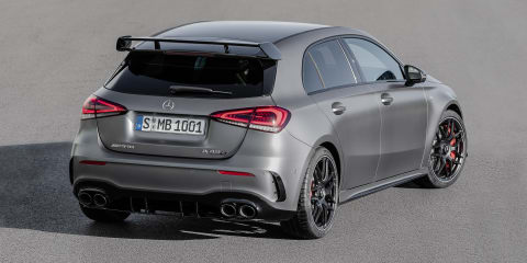 2020 Mercedes-AMG A45 10-plus seconds quicker around Nürburgring than predecessor