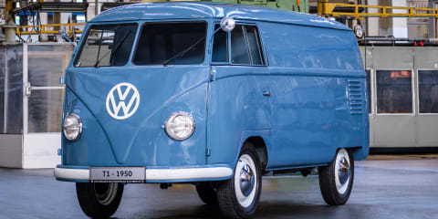 Meet 'Sofie', the world's oldest Volkswagen Transporter