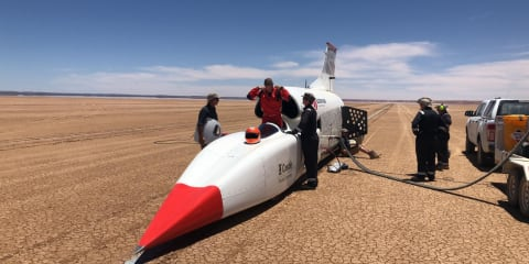 Bloodhound LSR tops 1000km/h in testing