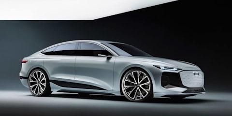 Audi A6 E-Tron Concept breaks cover ahead of Shanghai motor show