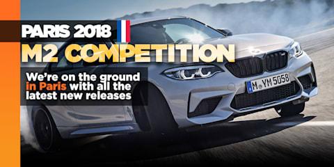 BMW's M2 Competition bows in Paris