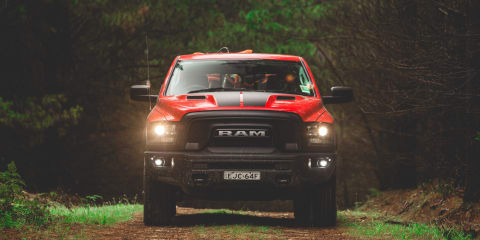 2020 Ram 1500 Warlock off-road review