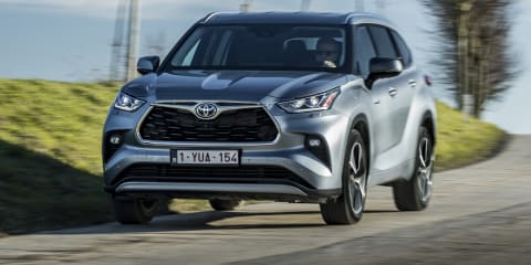 2021 Toyota Kluger在澳大利亚于6月份,混合入境