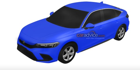 2022 Honda Civic revealed in patent filings