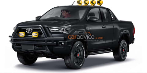 What Marty McFly's Toyota HiLux would look like today