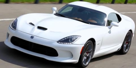 SRT Viper GTS: Chrysler CEO donates Italian snake to charity