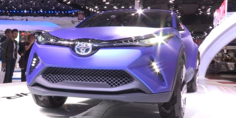 2014 Toyota C-HR Concept - first look