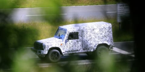 Land Rover Defender-inspired Ineos Grenadier spied testing