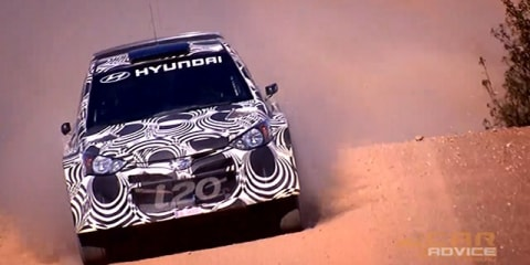 HYUNDAI i20 WRC Gravel Test - Spain
