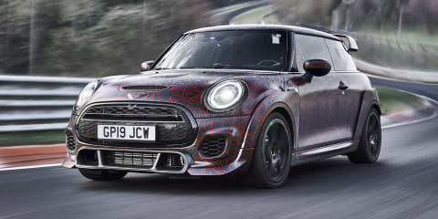 Up next: Mini's electric hot hatch range