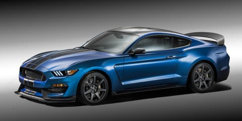 Shelby GT350R Mustang unveiled with carbonfibre wheels, race suspension, less weight