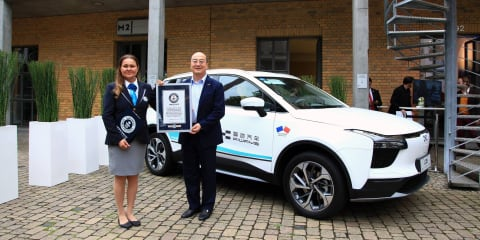 Aiways U5 EV awarded a Guinness World Record