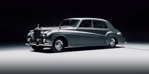 Classic Rolls-Royce goes electric
