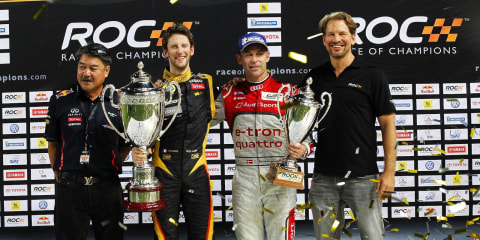 Romain Grosjean takes out 2012 Race of Champions