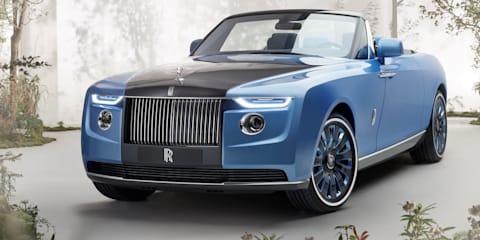 Rolls-Royce unveils $37 million bespoke 'Boat Tail' convertible