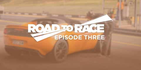 Road to Race, Episode 3: Time to hit the track
