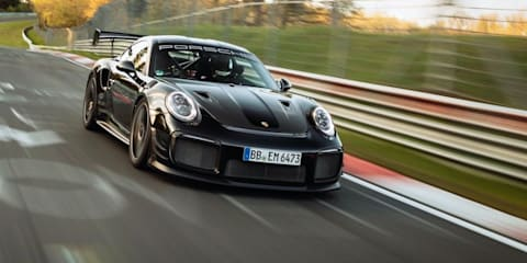 2021 Porsche 911 GT2 RS with Manthey Performance Kit breaks Nürburgring production-car record