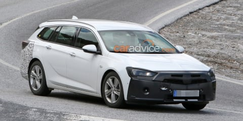 2020 Holden Commodore Sportwagon spied