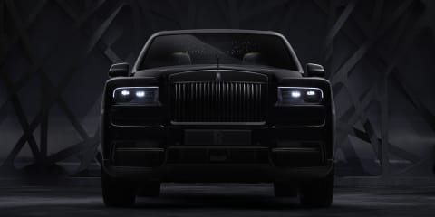 Rolls-Royce Cullinan Black Badge revealed