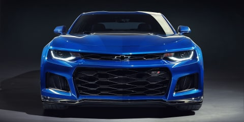 HSV confirms Chevrolet Camaro ZL1 power as production starts