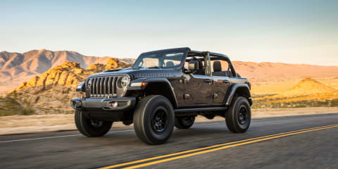 Jeep Wrangler V8 and 4Xe plug-in hybrid still a chance for Australia