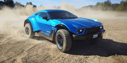 World's first street-legal all-terrain supercar revealed