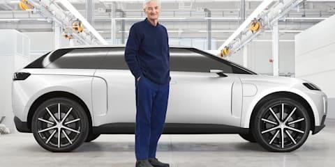 Dyson unveils the $1 billion electric car it axed