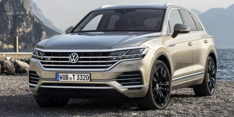 2020 Volkswagen Touareg V8 TDI revealed