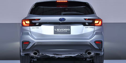 Subaru Levorg Prototype revealed: Production model coming in 2020
