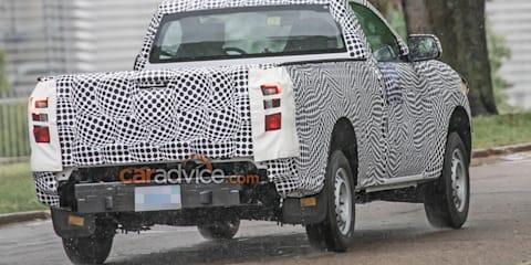2022 Ford Ranger XL Single Cab spy photos