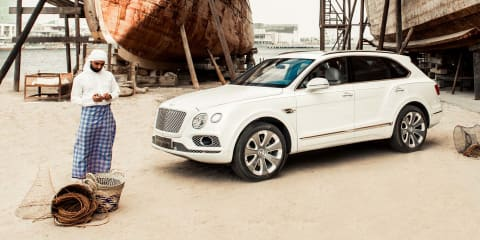 Bentley Bentayga 'Pearl of the Gulf' revealed