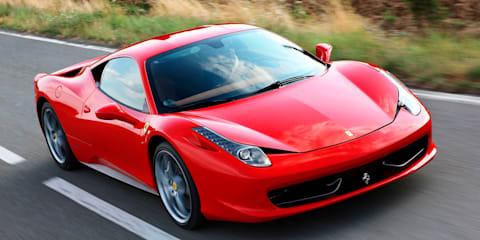 Ferrari 458 Italia at Frankfurt Motor Show