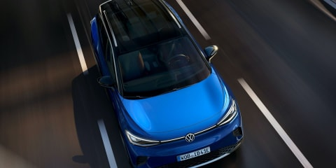 2021 Volkswagen ID.4 electric SUV revealed