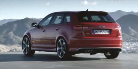 Video: 2011 Audi RS3 details revealed on Audi TV