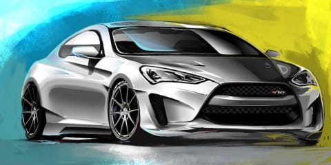 Hyundai Legato coupe: SEMA concept revealed