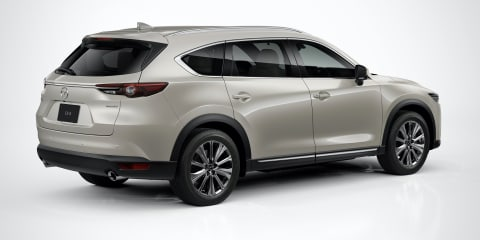 2021 Mazda CX-8 update: Australian details revealed early