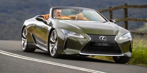 Video: 2021 Lexus LC500 Convertible review