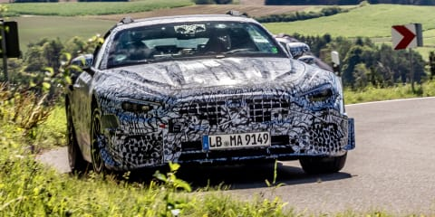 Next generation Mercedes-Benz SL Roadster begins pre-production testing