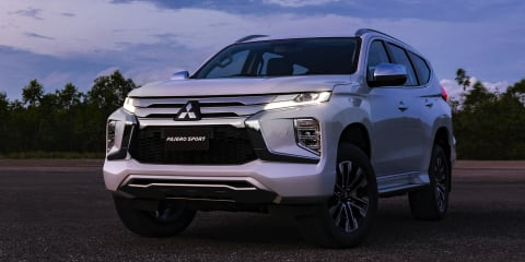 2020 Mitsubishi Pajero Sport revealed, here next year