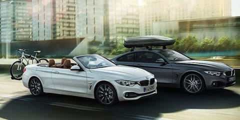 BMW 4 Series Convertible brochure images leaked