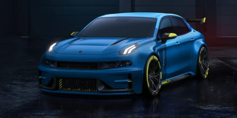 Lynk & Co 03 Cyan concept revealed