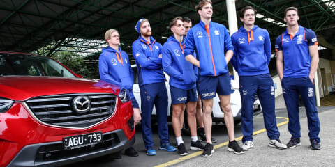 Driver Dynamics driver training with Mazda and the North Melbourne Football Club