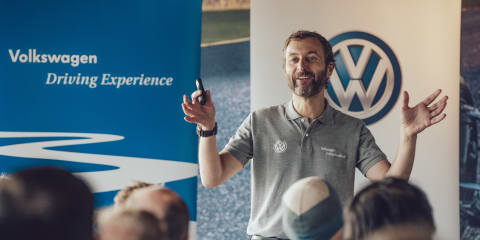 Meet Steve Pizzati:: Volkswagen's dynamo driving instructor