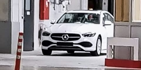 2022 Mercedes-Benz C-Class spied undisguised, All-Terrain caught too