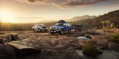 2021 Isuzu D-Max launches with more than 50 accessories, including bullbars